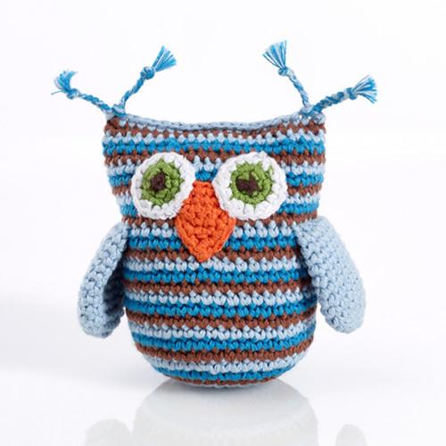 Pebble Blue Owl