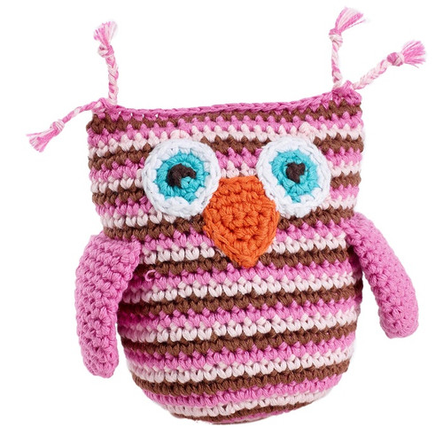 Pebble Pink Owl