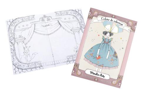 Moulin Roty Il ƒtait Une Fois Coloring Book