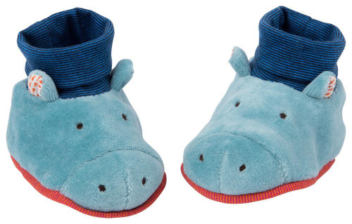 Moulin Roty Hippo slippers Les Papoum