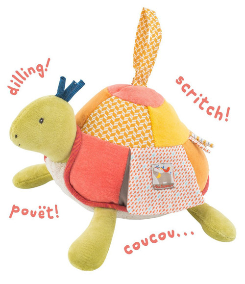 Moulin Roty Activity Turtle, Les Papoum