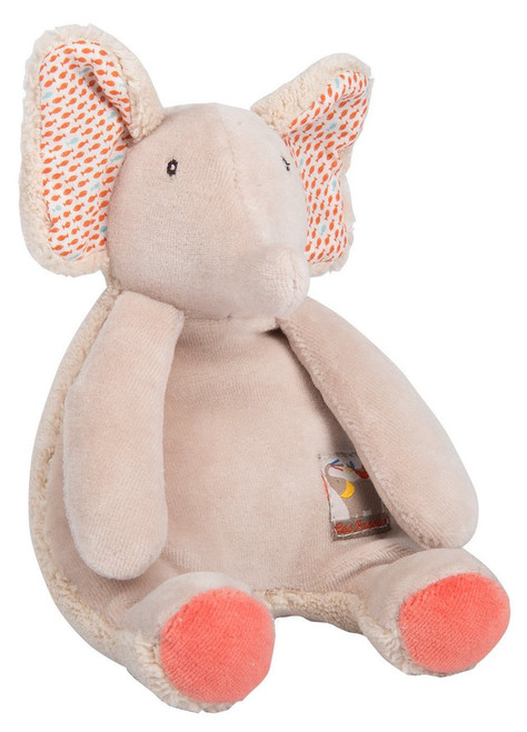 Moulin Roty Elephant rattle Les Papoum