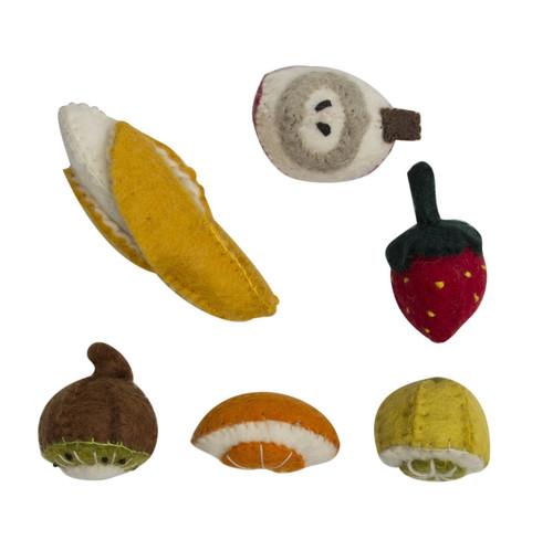 Papoose Mini Felt Fruit Boxed Set