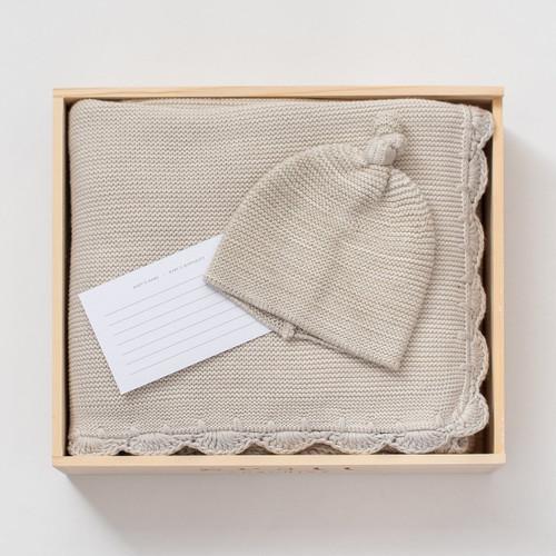 Heirloom Organic Cotton Gift Set - Mist