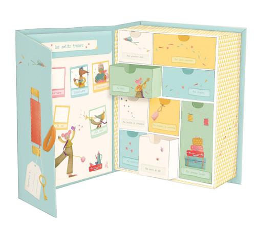 "Moulin Roty Souvenir Box ""les Tartempois"""