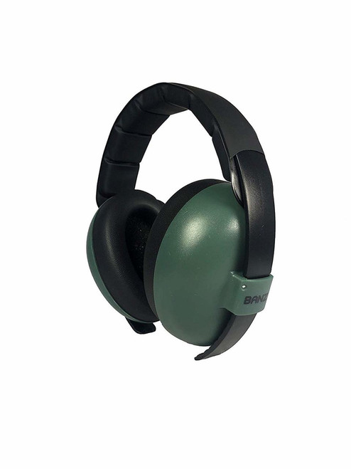 Baby Banz Dark Green Earmuffs by Baby BAnz