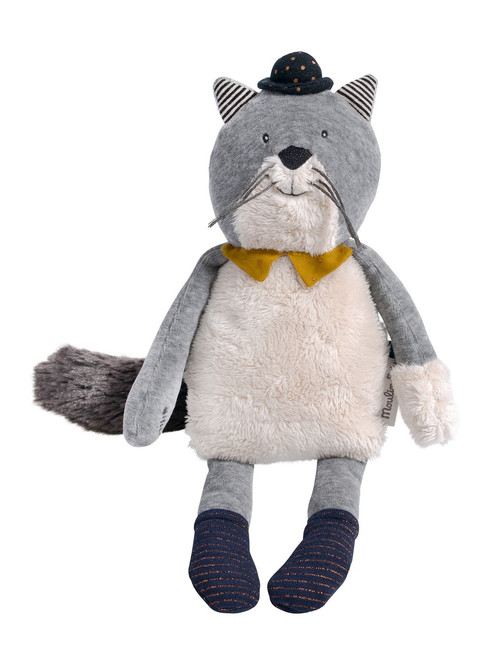 Moulin Roty Soft Toy Fernand the cat Les Moustaches Moulin Roty