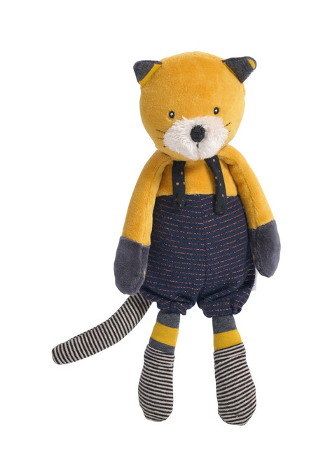 Moulin Roty Soft Toy Lulu the cat Les Moustaches