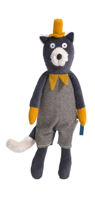 Moulin Roty Soft Toy Alphonse the cat Les Moustaches