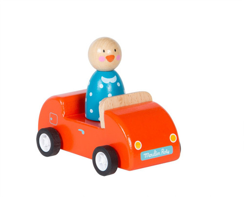 Moulin Roty Red car La Grande Famille