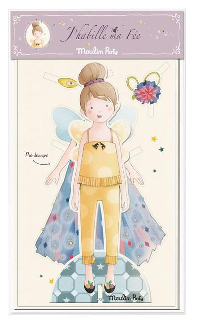 Moulin Roty Cut out fairy to dress Il Žtait une fois
