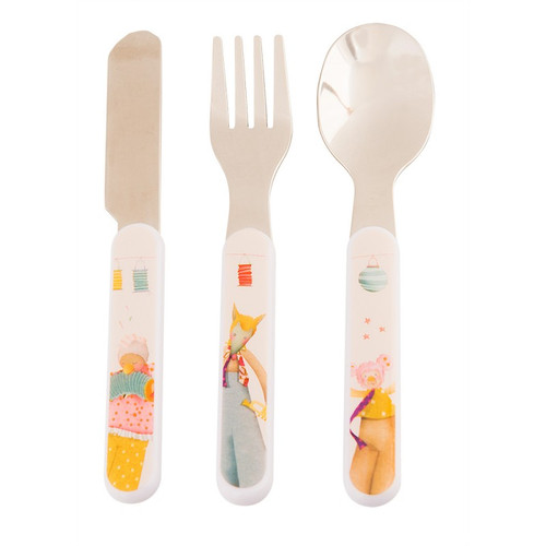 Moulin Roty Les Tartempois Cutlery Set