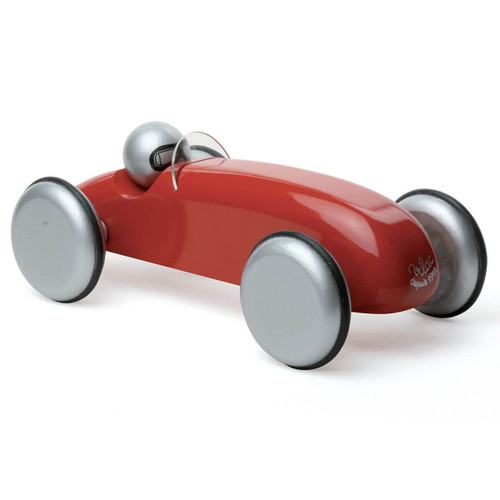 Vilac Large Wooden Speedster Car in Red by Vilac