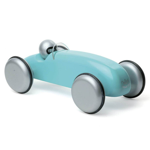 Vilac Large Wooden Speedster Car in Turquoise by Vilac