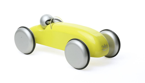 Vilac Large Wooden Speedster Car in Yellow by Vilac