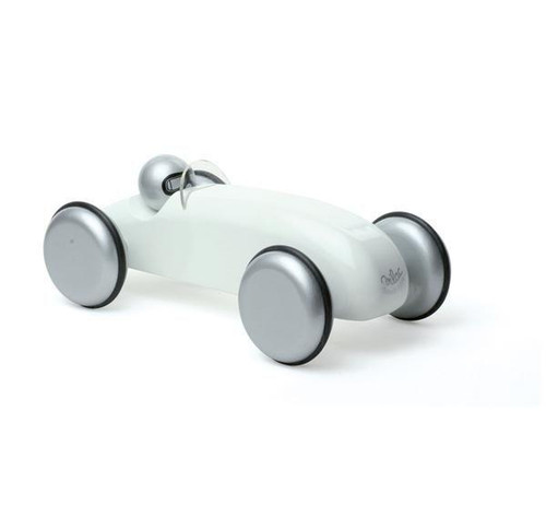 Vilac Large Wooden Speedster Car in White by Vilac