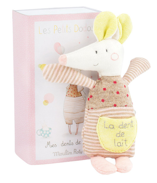 Moulin Roty Mouse Tooth Box Les Petits Dodos