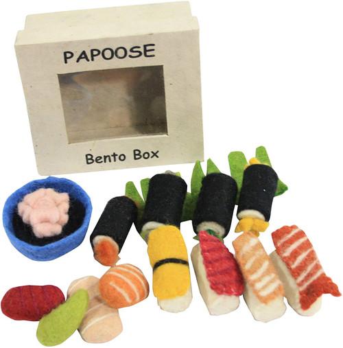Papoose Felt Bento Box Set