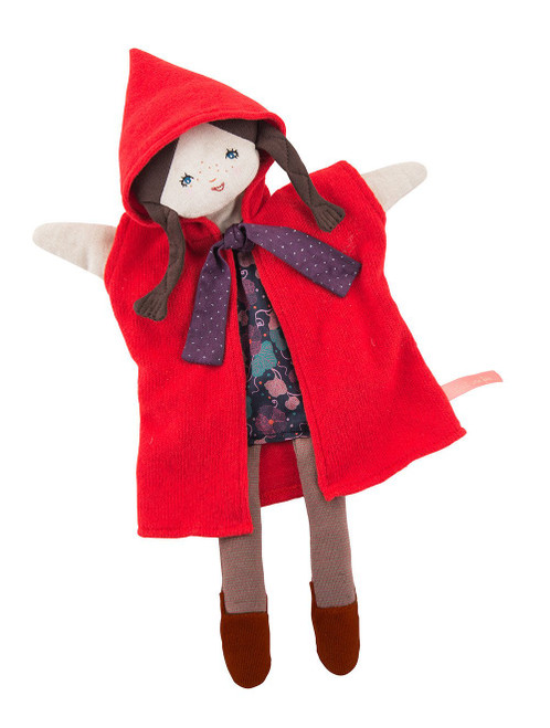 Moulin Roty Red Riding Hood hand puppet
