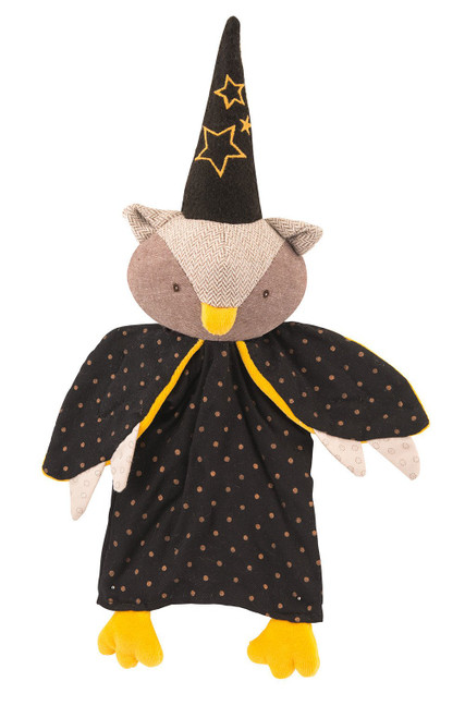Moulin Roty The Owl Magician hand puppet