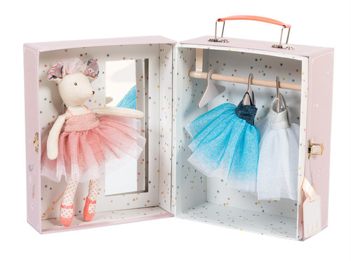 Moulin Roty Ballerina Mouse Valise