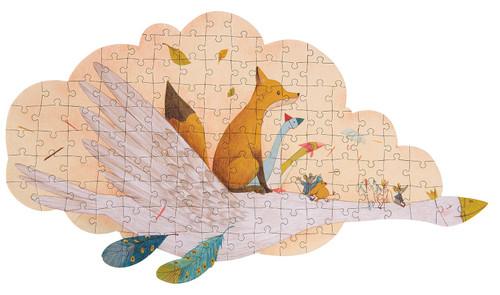 moulin Roty 'Le voyage d'Olga' Puzzle 124 pieces