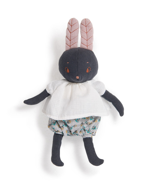 "Moulin Roty  Lune the rabbit"" Apres la pluie"" 9 inches"