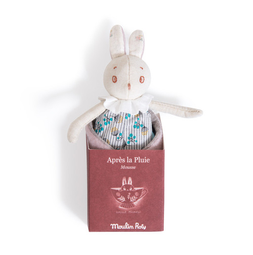 Moulin Roty Mousse small rabbit Aprs la pluie