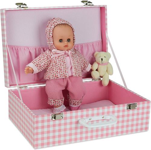 Petitcollin Petitcollin 622812 Baby Doll Delia in Suitcase
