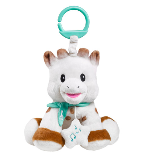 Sophie the Giraffe Sweetie Plush with Musical Box 20cm