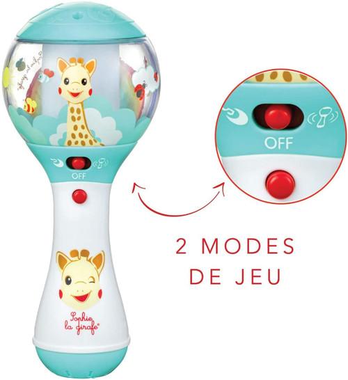 Sophie the Giraffe Shake Shake Sophie An Innovative Electronic Rattle
