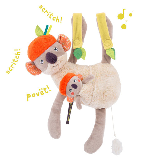 Moulin Roty Dans La Jungle - Hanging Musical Koco