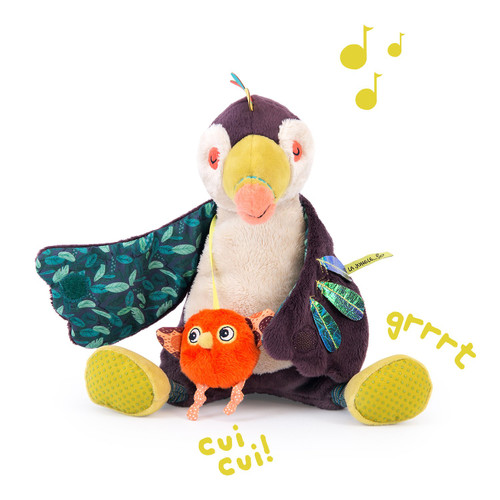 Moulin Roty Dans La Jungle - Pakou Musical Toucan