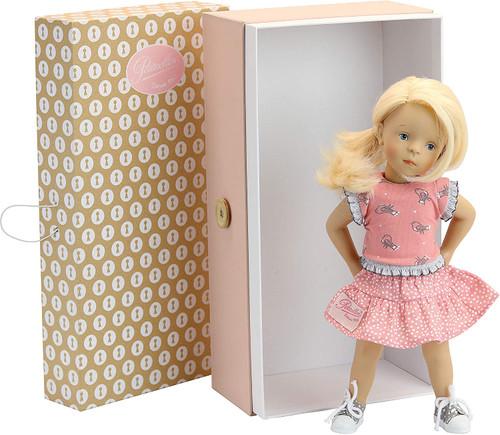 Peticollin Doll Minouche 34 cm Luna in a suitcase