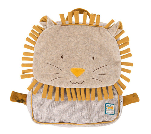 """Moulin Roty Lion """"Sous mon baobab"""" Backpack"""
