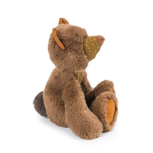 "Moulin Roty Rendez vous Chemin Du Loup Small Brown Bear ""Chanterelle"""