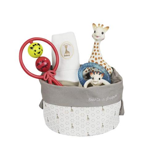 Sophie The Giraffe Birth Basket 2 New Gift