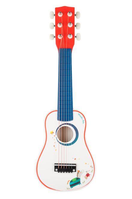 Moulin Roty Wooden Guitar Les Zig et Zag