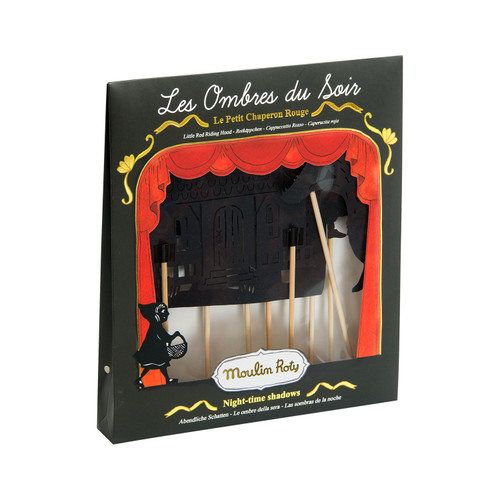Moulin Roty Les Petites Merveilles - Little Red Riding Hood Shadow Puppets