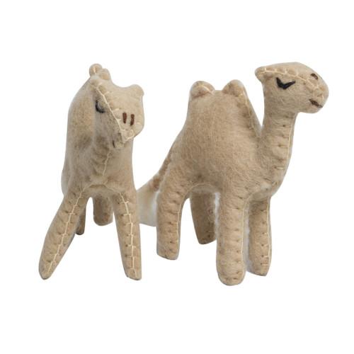 PAPOOSE Felt Animals - Little Camels (2 pcs)