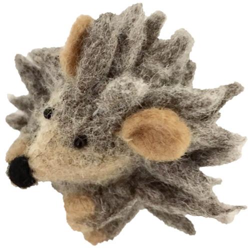 Papoose Felt Animals - Baby Hedgehog (2 pcs)