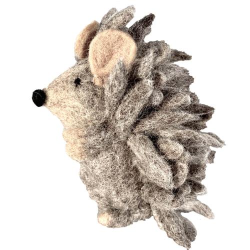 Papoose Felt Animals - Mother Hedgehog (2 pcs)