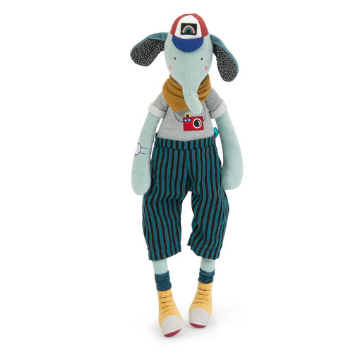 Moulin Roty Les Broc'n Rolls - Pablo The Elephant
