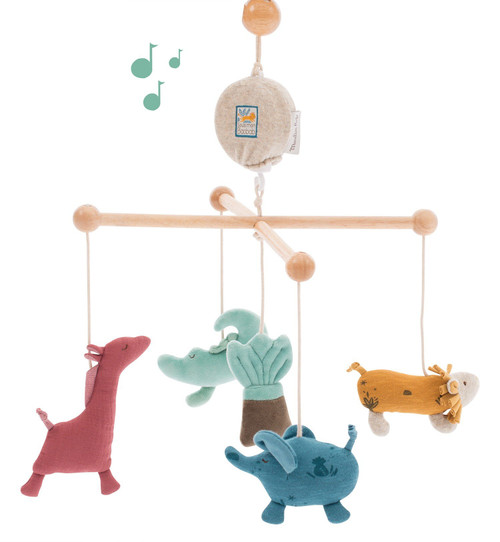 Moulin Roty Sous mon Baobab Musical Mobile