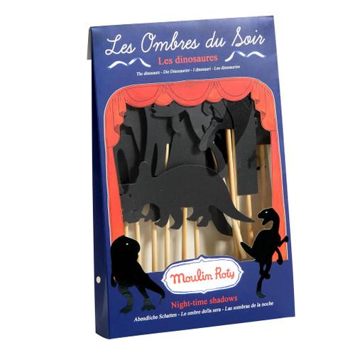 Moulin Roty Les Histoires Du Soir - Dinosaur Shadow Puppets /9