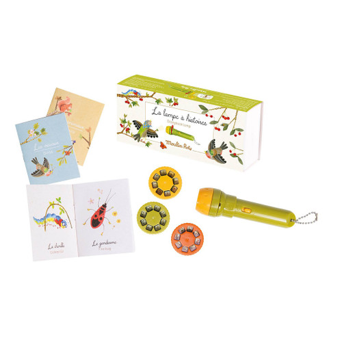 Moulin Roty Le Jardin - Storybook Torch Set