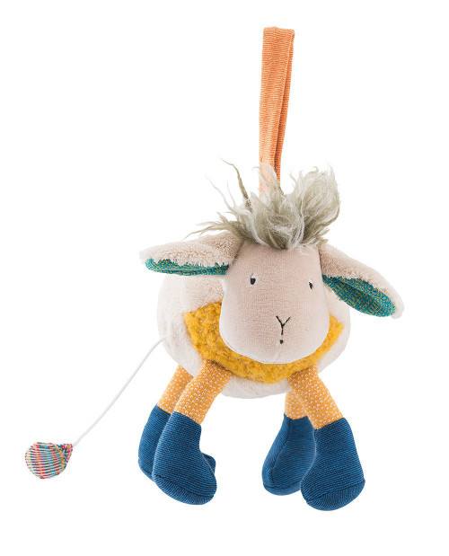 Moulin Roty Musical Sheep Les Zig et Zag