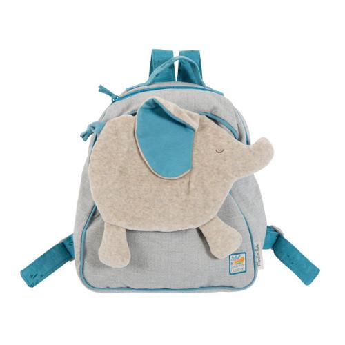 Moulin Roty Sous Mon Baobab - Elephant Backpack