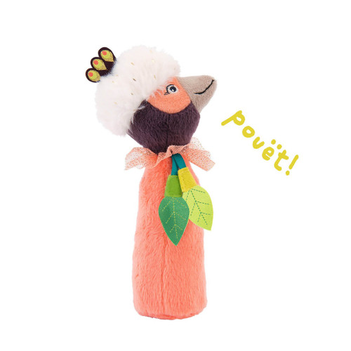 Moulin Roty Dans la Jungle Paloma Squeaky Rattle