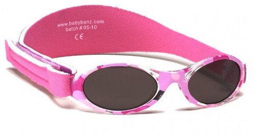Baby Banz Adventure Banz Sunglasses Ages Pink Diva Camo